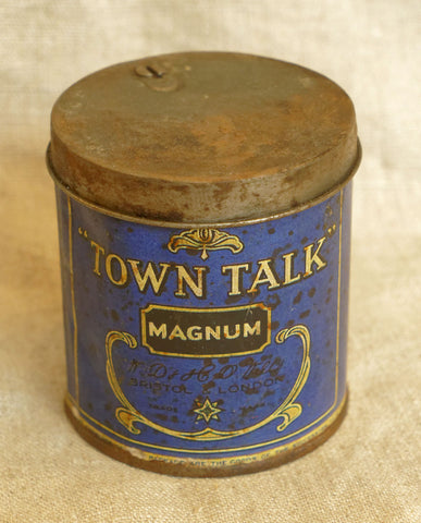 Town Talk Tobacco Tin, circa 1920s