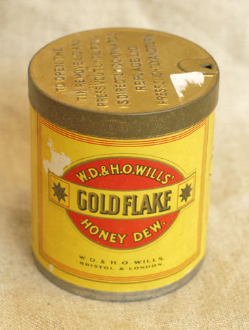 W.D. & H.O.Wills 'Golden Flake' Tobacco Tin, circa 1920s