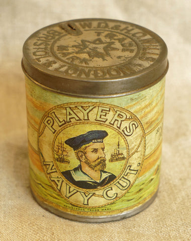 Players Tobacco Tin, circa 1920s