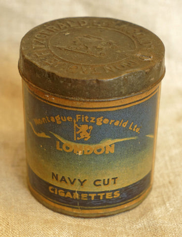 Navy Cut Tobacco Tin, circa 1920s
