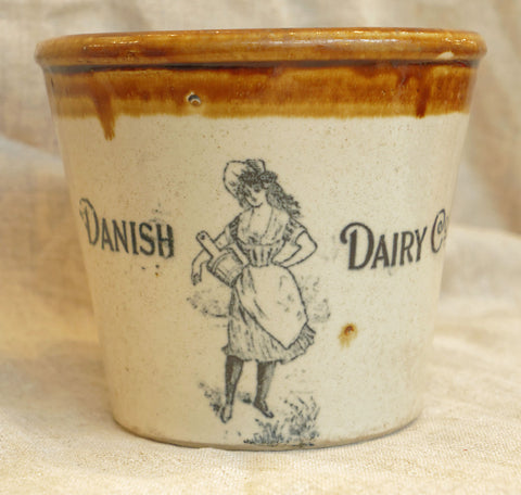 Danish Dairy Co. Stoneware Butter Jug