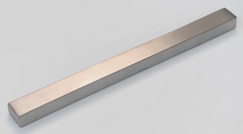 Plain Bar Handle with Rebate Lipped Front Edge