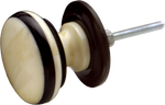 Classic Bone & Horn Cabinet Knob Large