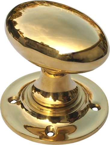 Oval Turning Brass Handle