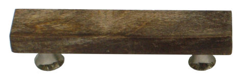 Fossilised Wood Brown Bar Handle