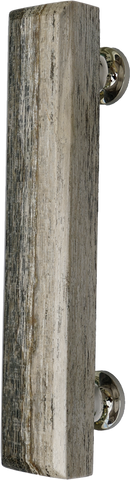 Fossilised Wood Grey Bar Handle Large