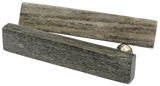 Fossilised Wood Grey Bar Handle