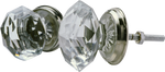 Traditional Cut Crystal Knob (2 sizes)