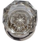 Crystal Star Cabinet Knob  Large