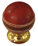 Cricket Ball Turning Handle with Brass Base