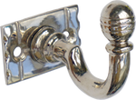 Nickel Acorn Hook