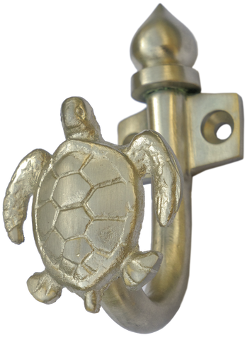 Turtle Hook in Nickel