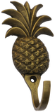 Antique Brass Pineapple Hook