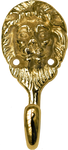 Brass Lion Hook
