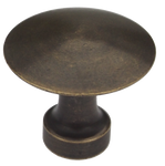Brass Mushroom Cabinet Knob (3 sizes)