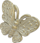 Detailed Butterfly Cabinet Pull in Nickel