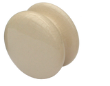 Shaker Style Cream KNOB (2 sizes)