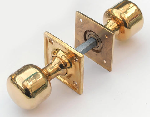 Square Based Brass Turning Handle