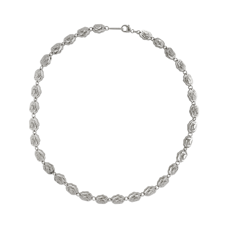 Elena Choker Necklace Silver - Kay Konecna Studio. Independent jewellery designer based in London. Discover Women's Elena Choker Necklace Silver. Visit the official e-store and shop with secure payments and fast worldwide shipping.
