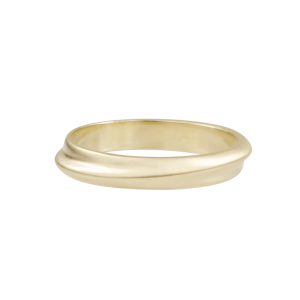 Fold Band 4mm Wedding Ring - Kay Konecna Studio. Independent jewellery designer based in London. Discover Women's Fold Band 4mm Wedding Ring. Visit the official e-store and shop with secure payments and fast worldwide shipping.