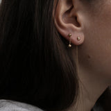 Dune 4mm Single Chain Stud Earring - Kay Konecna Studio