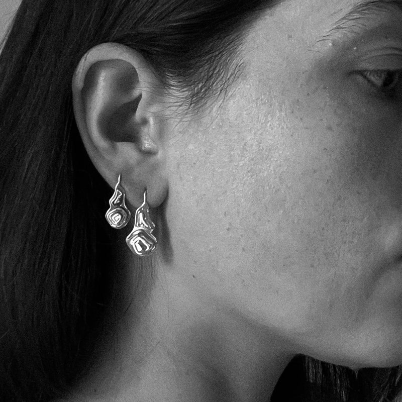 Pia Wire Hook Earrings Silver - Kay Konecna Studio. Independent jewellery designer based in London. Discover Women's Pia Wire Hook Earrings Silver. Visit the official e-store and shop with secure payments and fast worldwide shipping.
