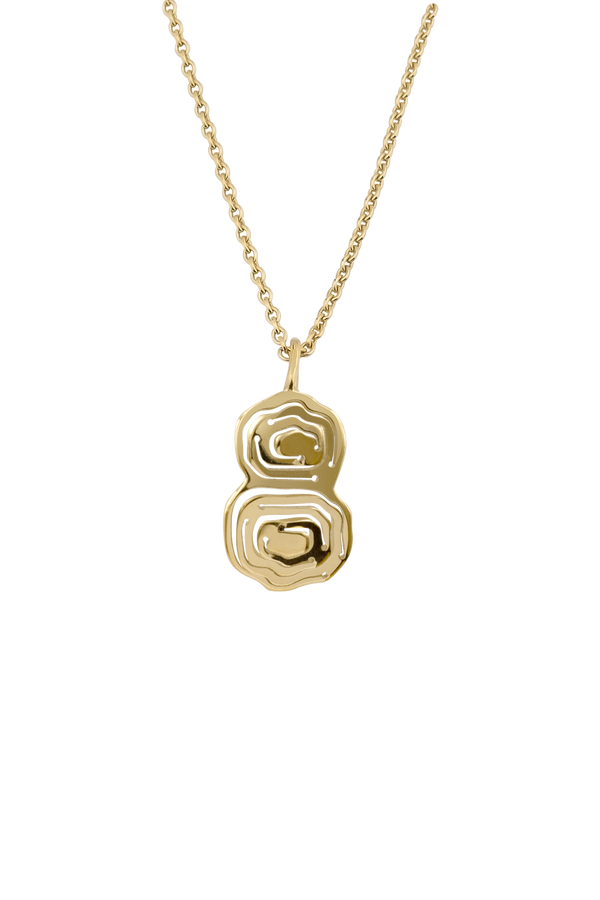 Elena Duo Pendant Gold Vermeil - Kay Konecna Studio. Independent jewellery designer based in London. Discover Women's Elena Duo Pendant Gold Vermeil. Visit the official e-store and shop with secure payments and fast worldwide shipping.