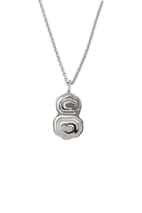 Elena Duo Pendant Silver - Kay Konecna Studio. Independent jewellery designer based in London. Discover Women's Elena Duo Pendant Silver. Visit the official e-store and shop with secure payments and fast worldwide shipping.