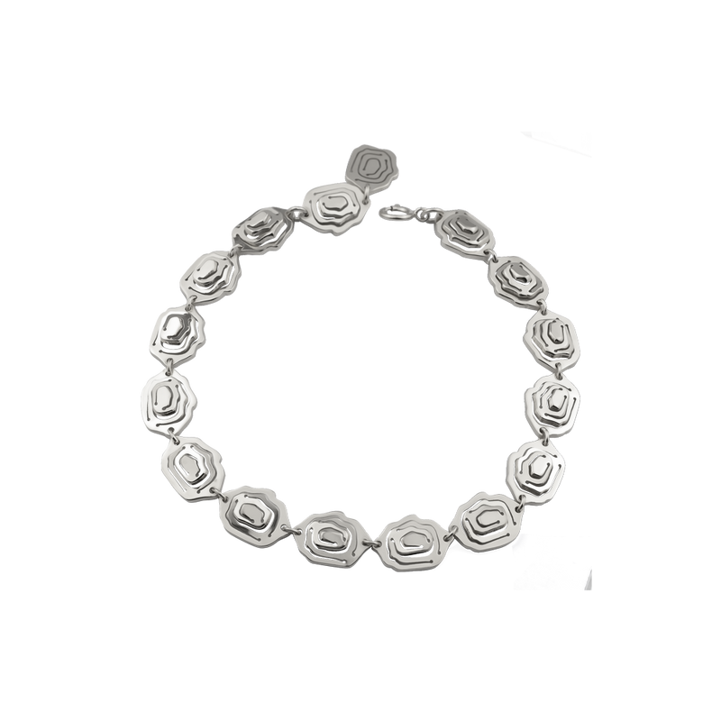 Elena Bracelet Silver - Kay Konecna Studio. Independent jewellery designer based in London. Discover Women's Elena Bracelet Silver. Visit the official e-store and shop with secure payments and fast worldwide shipping.