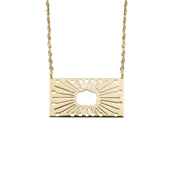 Sunscape Pendant Gold Vermeil - Kay Konecna Studio. Independent jewellery designer based in London. Discover Women's Sunscape Pendant Gold Vermeil. Visit the official e-store and shop with secure payments and fast worldwide shipping.