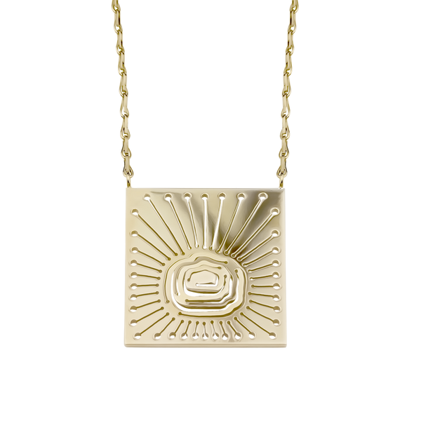Cloudscape Pendant Gold Vermeil - Kay Konecna Studio. Independent jewellery designer based in London. Discover Women's Cloudscape Pendant Gold Vermeil. Visit the official e-store and shop with secure payments and fast worldwide shipping.