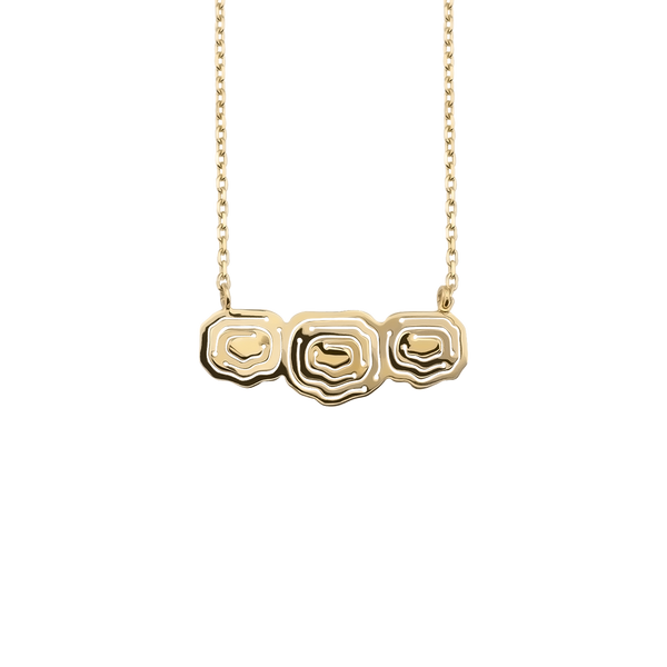 Elena Trio Pendant Gold Vermeil - Kay Konecna Studio. Independent jewellery designer based in London. Discover Women's Elena Trio Pendant Gold Vermeil. Visit the official e-store and shop with secure payments and fast worldwide shipping.