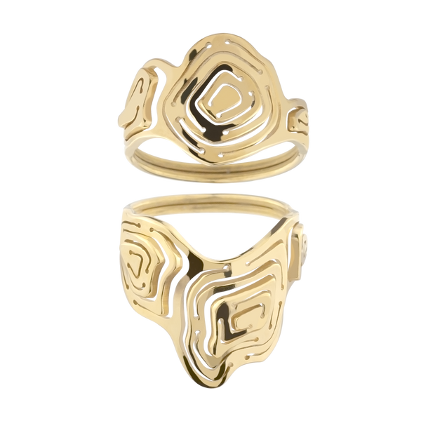Pia Ring Stack Gold Vermeil - Kay Konecna Studio. Independent jewellery designer based in London. Discover Women's Pia Ring Stack Gold Vermeil. Visit the official e-store and shop with secure payments and fast worldwide shipping.
