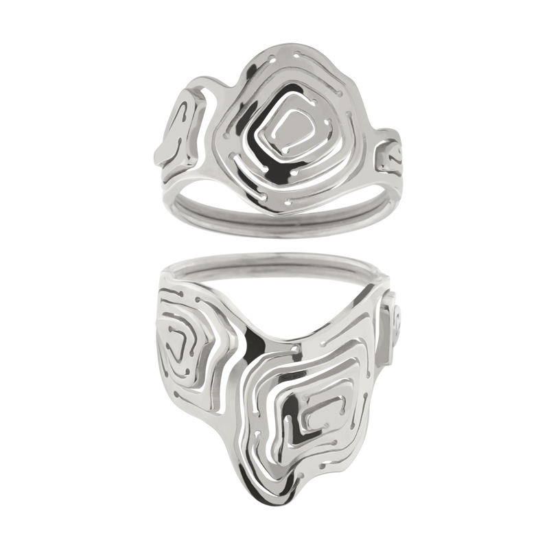 Pia Ring Stack Silver - Kay Konecna Studio. Independent jewellery designer based in London. Discover Women's Pia Ring Stack Silver. Visit the official e-store and shop with secure payments and fast worldwide shipping.