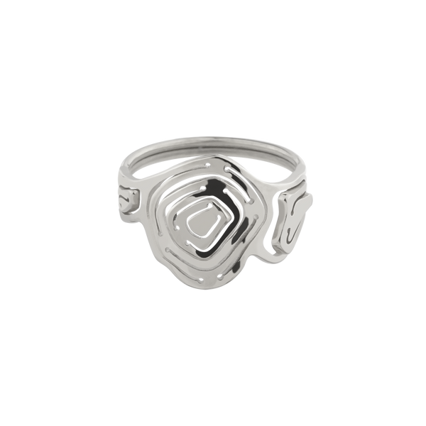 Pia Trilogy Stacking Ring Silver - Kay Konecna Studio