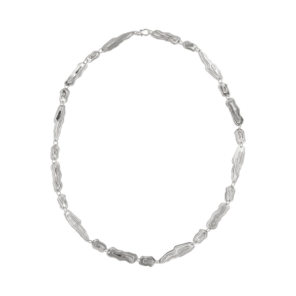 Saliana Long Necklace Silver - Kay Konecna Studio. Independent jewellery designer based in London. Discover Women's Saliana Long Necklace Silver. Visit the official e-store and shop with secure payments and fast worldwide shipping.