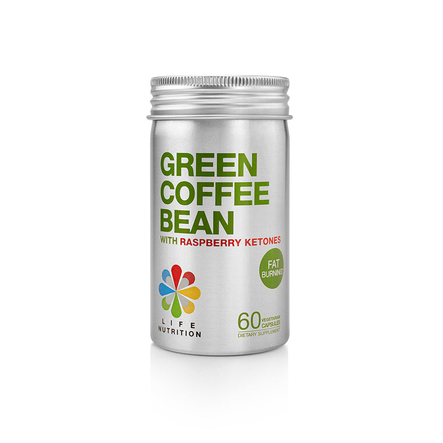 GREEN COFFEE BEAN WITH RASPBERRY KETONES