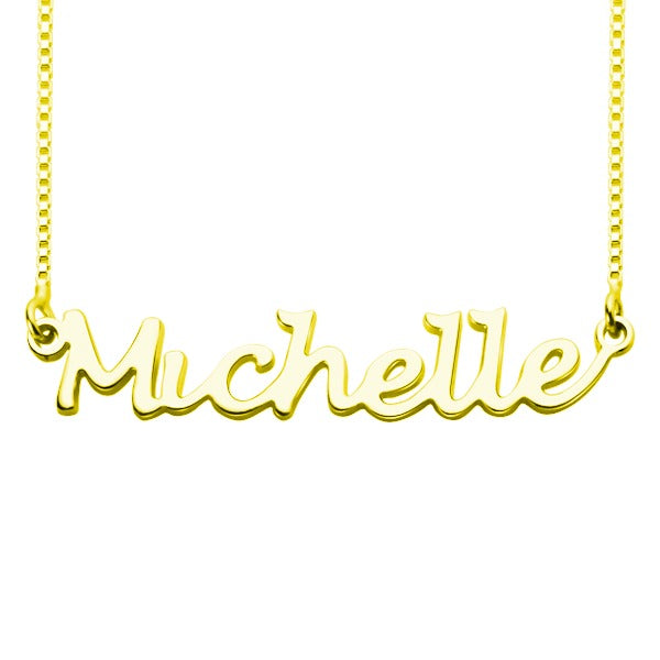 Personalized Classic Handwriting Name Pendant