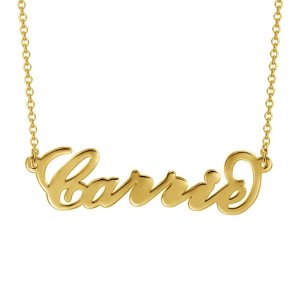 Personalized Famous Carrie Pendant