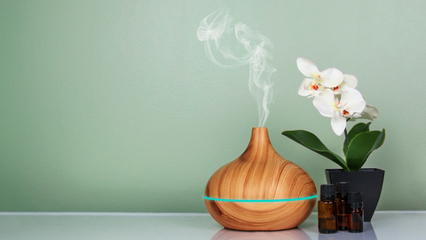 essential oil diffuser for peaceful calm ambiance