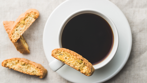 anise biscotti are perfect to enjoy with coffee or anytime