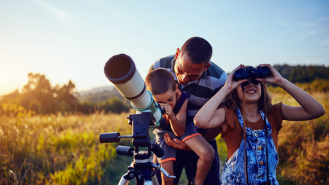 space exploration is a fun and enriching family activity