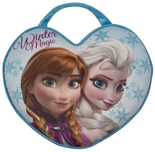 Frozen cushion elsa und anna portable 36 x 30 cm