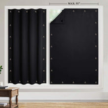 Load image into Gallery viewer, Temporary Blackout Blind Curtain For Window with Adjustable Suction Cups