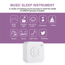 Load image into Gallery viewer, White Noise Machine - USB Rechargeable - 9 Sleep Sounds For Sleep Relaxation For Baby's