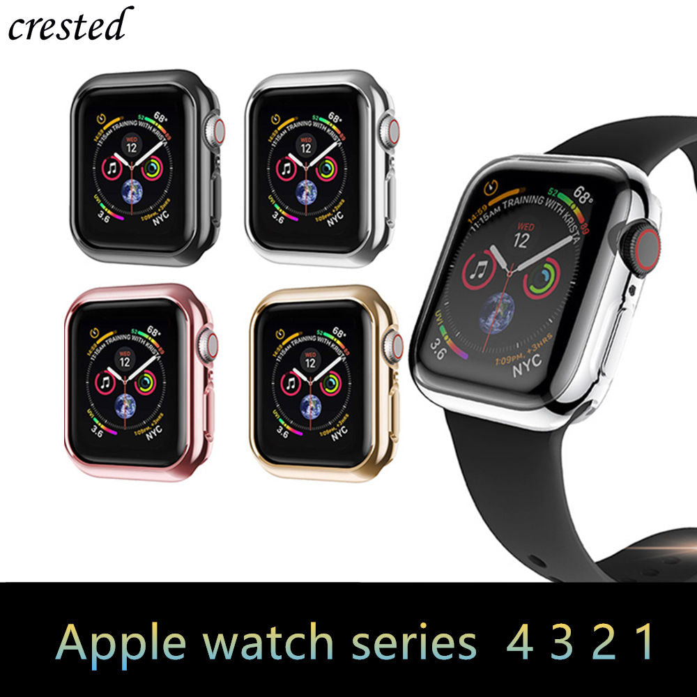 Bumper For Apple Watch 5 case 44mm 40mm iwatch band 42mm 38mm Screen protector cover Apple watch 4 3 2 1 42/38 mm Accessories