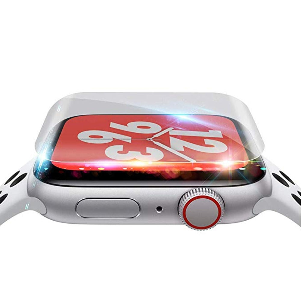 Screen Protector For Apple Watch 5 4 44mm 40mm 9D Full Coverage scratch prevention Protective Hydrogel Film watch accessories