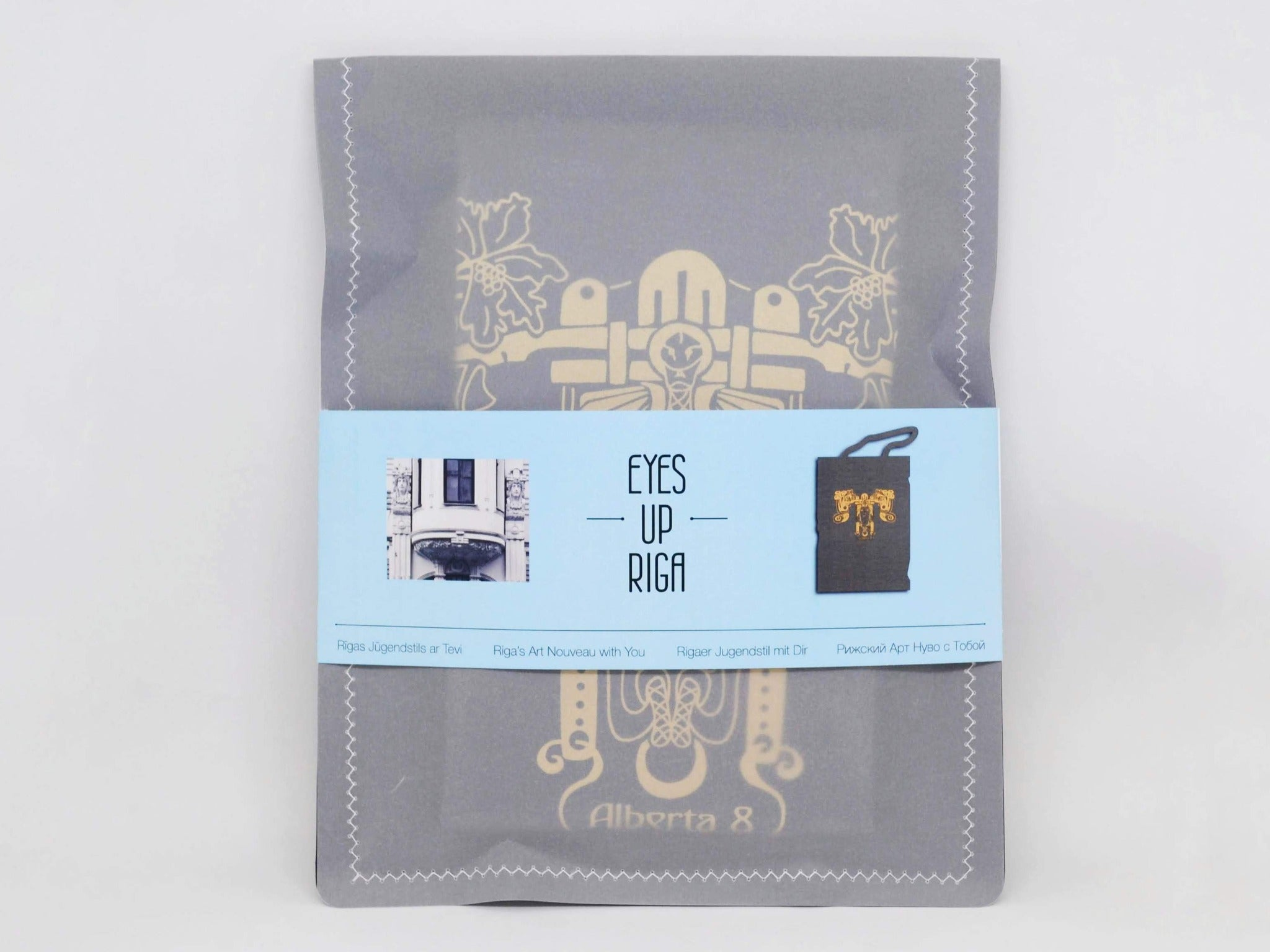 "Cotton Bag: Eyes Up Riga ""Alberta 8"""