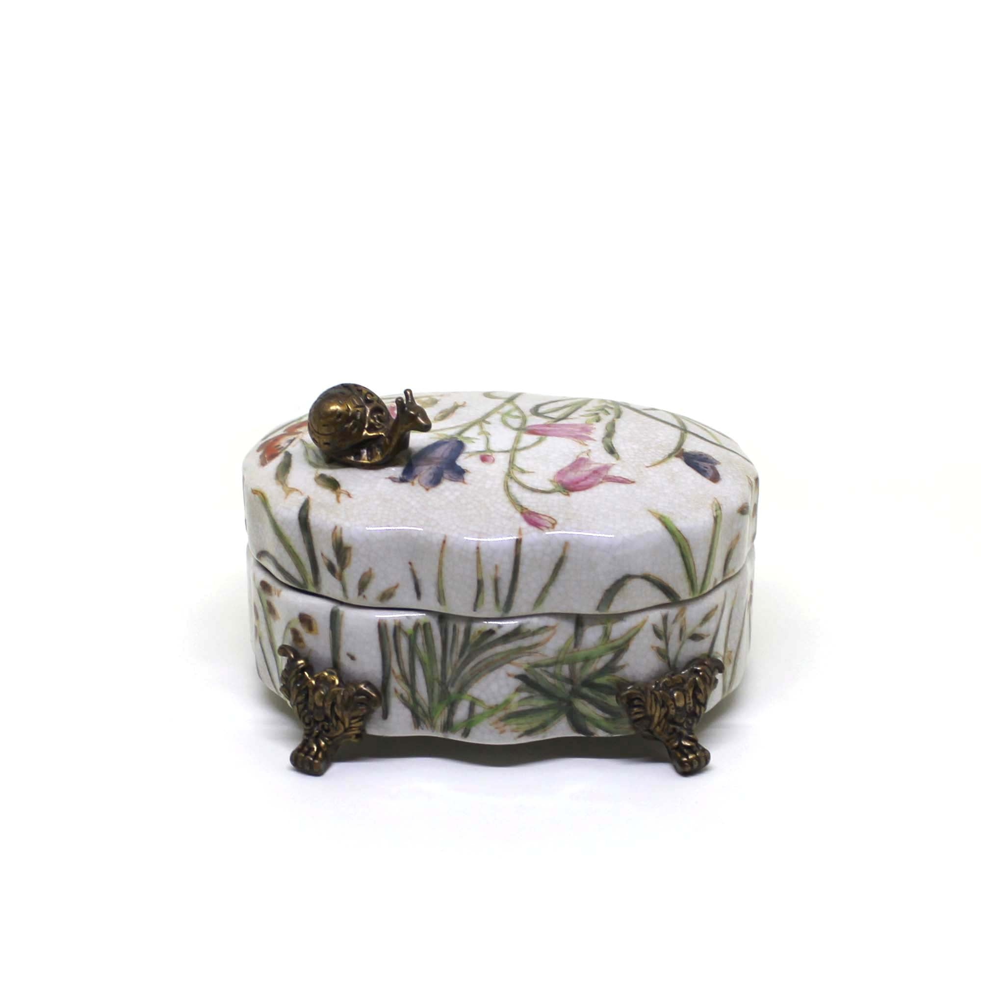 Trinket Box with Snail