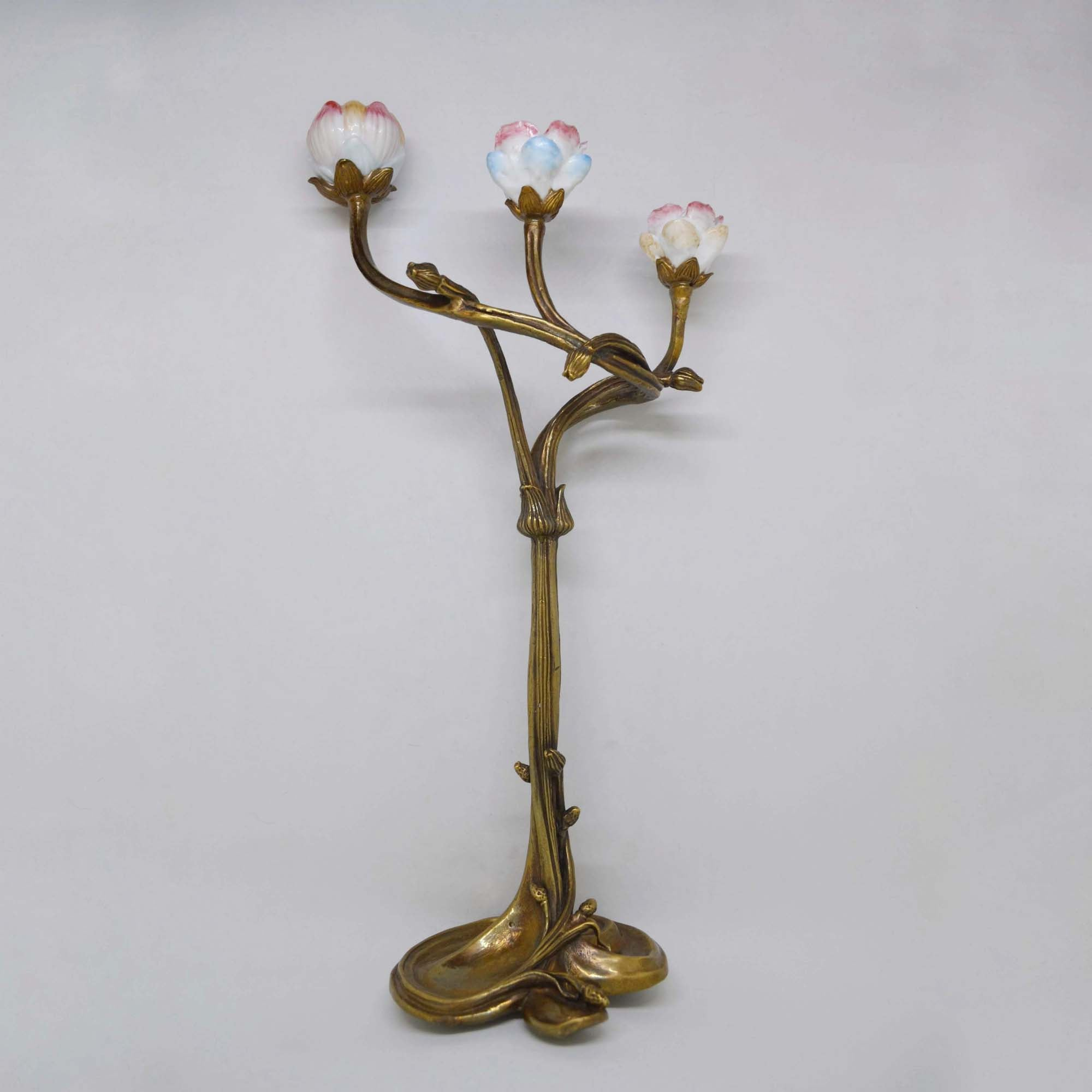 Candlestick - Rose